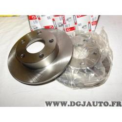 Paire disques de frein arriere 245mm diametre plein DDF952 pour volkswagen passat B5 3B2 3B5 audi A4 B7 8EC
