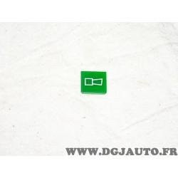 Plaque plaquette etiquette verte interrupteur touche temoin WA3 9XT714300-291 adaptable universel pour auto poids lourd tracteur