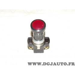 Bouton interrupteur 6ED001565-001 universel pour véhicules auto poids lourd tracteur engin agricole chantier moteur