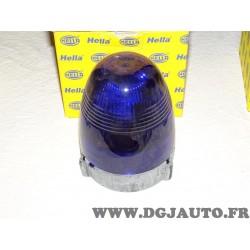 Gyrophare feu tournant coque bleu 2RL007337-101 adaptable universel pour véhicule de secours