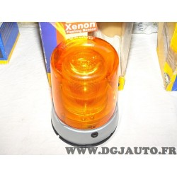 Gyrophare feu tournant orange 12V Xenon flash KLX7000F 2RL008181-101 adaptable universel poids lourd tracteur engin agricole