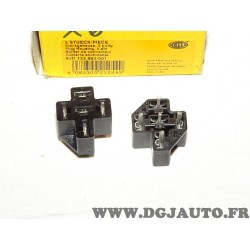 1 Boitier connecteur cosse electrique branchement relais telerupteur 8JD733963-001 pour véhicules auto poids lourd tracteur engi