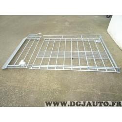 Galerie de toit acier 170KG charge utile avec deflecteur air chemin rouleau chargement 275x154cm MTS 0112RAP 59119177