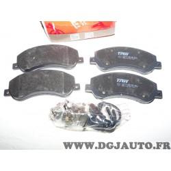 Jeux 4 plaquettes de frein avant montage bosch GDB1724 pour ford transit 6 VI volkswagen amarok