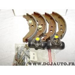 Kit frein arriere 180x32mm montage bendix 8671000277 pour ford fiesta 2 3 II III