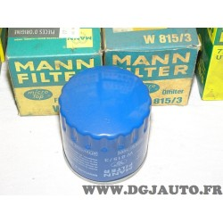 Filtre à huile W815/3 pour citroen BX C15 LNA visa peugeot 104 204 205 304 305 renault 14 R14 talbot samba 0.9 1.0 1.1 1.2 1.4 e