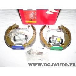 Kit frein arriere montage bendix bosch prémonté 8671014473 pour peugeot 206 dont SW 206+