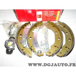 Kit frein arriere 228x40mm montage bendix 8671003902 pour peugeot 406 avec ABS dont coupé