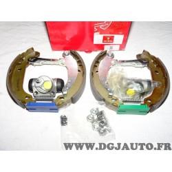 Kit frein arriere montage bendix bosch prémonté 8671014473 pour peugeot 206 dont SW et 206+