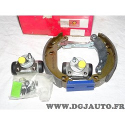 Lot 2 cylindres de roue + 1 coté machoires de frein arriere montage bendix bosch prémonté 8671014473* pour peugeot 206 dont SW e