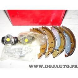 Kit frein arriere montage TRW 8671014474 pour peugeot 306