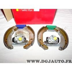 Kit frein arriere prémonté montage bendix bosch 180x32mm 8671016823 pour peugeot 206