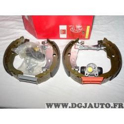 Kit frein arriere prémonté montage bendix 8671019402 pour peugeot 207
