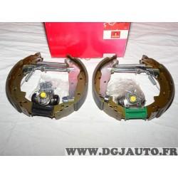 Kit frein arriere prémonté 228x40mm montage TRW 8671013535 pour renault express super 5
