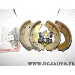 Kit frein arriere machoires + cylindres de roue 8671000279 pour opel kadett E ascona