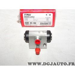 Cylindre de roue frein arriere montage bosch BWC252 pour citroen C1 peugeot 107 toyota aygo