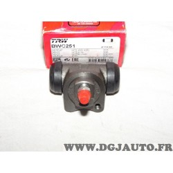 Cylindre de roue frein arriere montage TRW BWC251 pour chevrolet daewoo matiz spark M200 M250