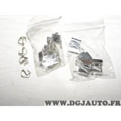 Kit accessoires fixation plaquettes de frein PFK587 pour toyota auris E15 RAV4 XA30 XA40 yaris XP9 mazda 6 GJ GL