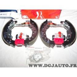 Kit frein arriere 203x38mm prémonté montage Ap lockheed GSK1627 pour opel adam corsa D