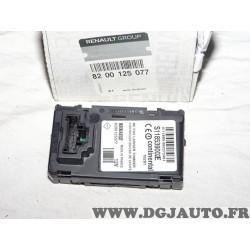 Boitier lecteur de carte centrale immobilisation 8200125077 pour renault scenic 2 II megane 2 II