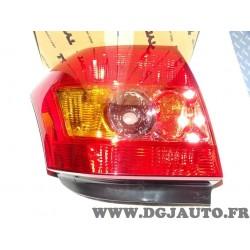 Feu lanterne arriere droit 11-0763-01-2 pour toyota corolla 9 IX E120 de 2004 à 2007