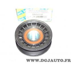 Galet enrouleur courroie accessoire GA353.52 pour opel astra F corsa B omega A senator B tigra A 1.4 1.6 2.6 3.0 essence