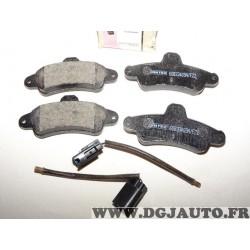 Jeux 4 plaquettes de frein arriere montage bendix 8671000824 pour ford mondeo 1 2 I II cougar