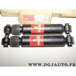 Paire amortisseurs suspension arriere 8671001152 pour peugeot 405 phase 1 et 2