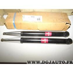 Paire amortisseurs suspension arriere pression gaz 8671013096 pour opel calibra