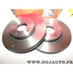 Paire disques de frein avant 278mm diametre ventilé 09946421 pour mazda 3 BK BL 5 CW CR19 premacy CP