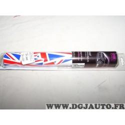 Bandeau autocollant retroviseur drapeau anglais citizen Dresscar 161101 pour mini one cooper