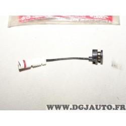Contacteur capteur temoin usure plaquettes de frein avant FWI287 pour mercedes classe C E CLK SLK W202 W210 C208 R170