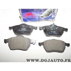 Jeux 4 plaquettes de frein avant montage teves NFP1055 pour ford galaxy seat alhambra volkswagen sharan