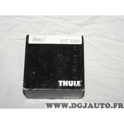 Kit pieds fixation barre de toit thule KIT3091 pour renault clio 3 III modus