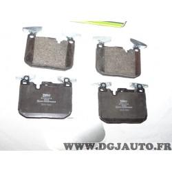 Jeux 4 plaquettes de frein avant montage brembo 601344 pour BMW serie 1 2 3 4 i8 F20 F21 F22 F23 F30 F31 F32 F33 F36 F45 F80 F82