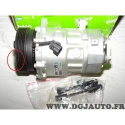 Compresseur de climatisation (poulie a changer suite choc sans reclamation) Valeo 813700 pour audi A3 TT ford galaxy seat alhamb