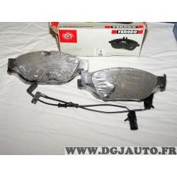 Jeux 4 plaquettes de frein avant montage teves FDB4397 pour audi A6 A7 A8 partir de 2010