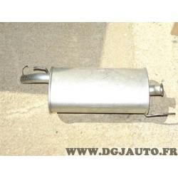 Silencieux echappement arriere petite colerette Fabriscape RN37145 pour renault super 5 essence et diesel