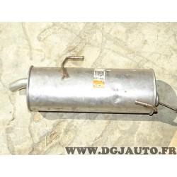 Silencieux echappement arriere Bosal 190313 pour peugeot 206 1.9D 1.9 D diesel