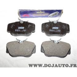 Jeux 4 plaquettes de frein avant montage lucas norauto NFP669 pour mercedes 190 W201