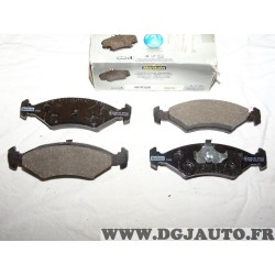 Jeux 4 plaquettes de frein avant montage teves norauto NFP206 pour ford escort 3 4 III IV fiesta 1 2 3 4 I II III IV orion 1 2 I