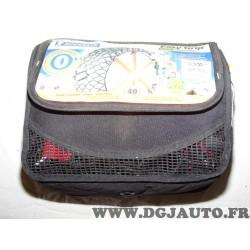 Paire chaines neige composite michelin easy grip Michelin T12 pour pneu roue jante 205/70/16 225/60/16 205 70 16 225 60 16