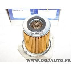 Filtre à huile norauto 475 pour opel vectra B dont break 2.0DI 2.0 DI 16V diesel