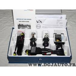 Kit ampoules xenon adaptable phare projecteur 6000K ASD KitxenonH43 6 type H4