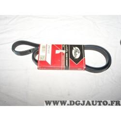 Courroie accessoire Gates 6PK1623 pour volvo 850 960 S90 V90 volkswagen touareg audi A8 Q7
