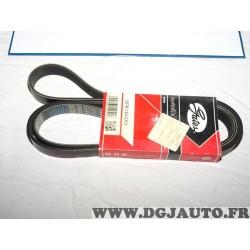 Courroie accessoire Gates 6PK1843XS pour opel astra J zafira C cascada 2.0CDTI 2.0 CDTI diesel