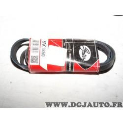 Courroie accessoire Gates 5PK1850 pour hyundai accent getz matrix kia cerato rio 1.5CRDI 1.5 CRDI diesel