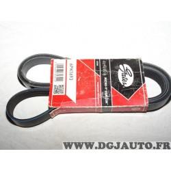 Courroie accessoire Gates 6PK1693 pour audi 100 A1 A3 A6 citroen berlingo ford fiesta 7 VII focus 4 IV kuga hyundai coupé santa