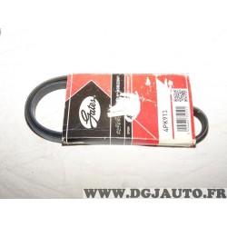 Courroie accessoire Gates 4PK913 pour BMW serie 7 E65 E66 E67 chevrolet daewoo matiz spark fiat fiorino tempra tipo uno honda ac