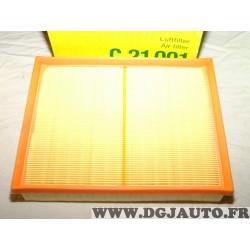 Filtre à air Mann filter C21001 pour renault alaskan nissan navara D23 NP300 mercedes classe X W470 X220 X250 2.3DCI 2.3 DCI die